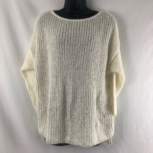 Zara Knit Sweater Sparkle Oversize Sequins